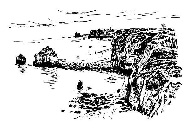 ilustrações de stock, clip art, desenhos animados e ícones de печать - algarve