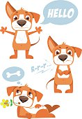 FUNNY VECTOR DOG