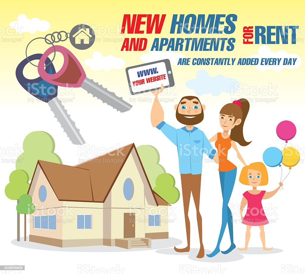 Free Apartment Rental Listings: Rent Apartment Stock Vector Art & More Images Of Adult