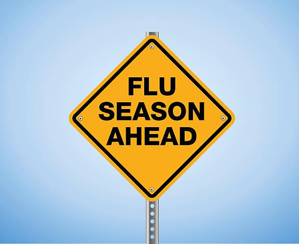 ilustraciones, imágenes clip art, dibujos animados e iconos de stock de gripe temporada más adelante. - flu