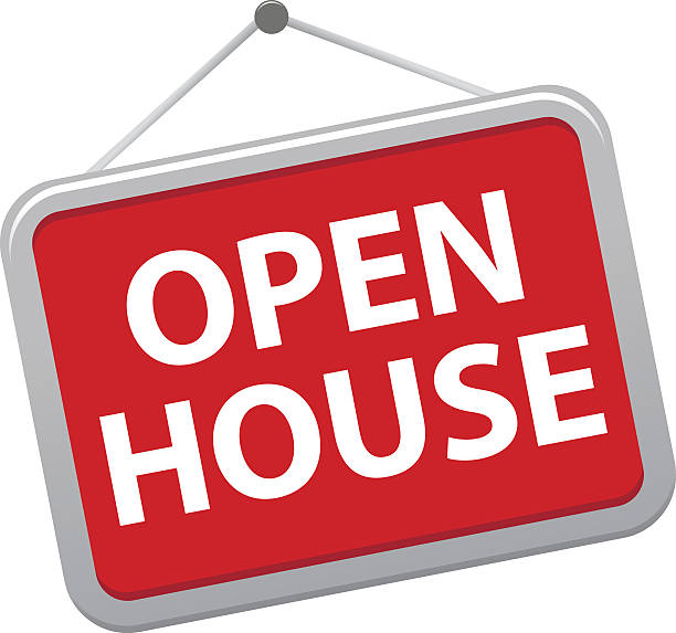 Image result for open house clip art""