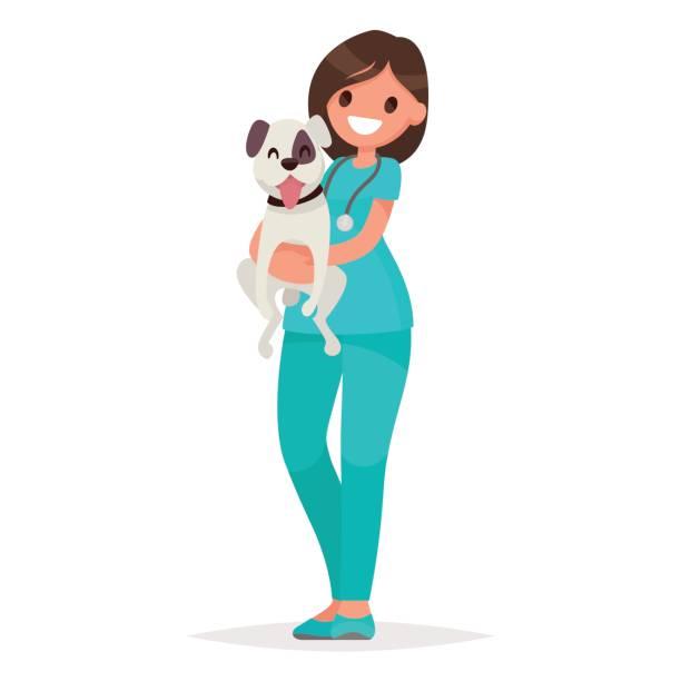 ð²ðµñ'ðµñ€ð¸ð½ð°ñ€ - veterinarian stock illustrations, clip art, cartoons, & icons