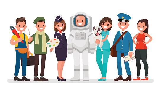Job stock illustrations