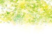新緑のイメージイラストです。