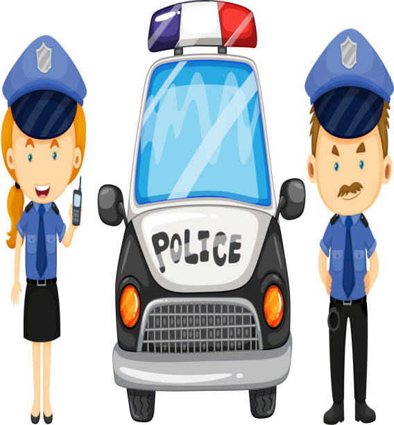Royalty Free Police Australia Clip Art, Vector Images ...