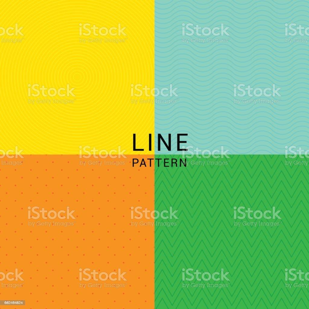 LINIENMUSTER Lizenzfreies linienmuster stock vektor art und mehr bilder von dekoration