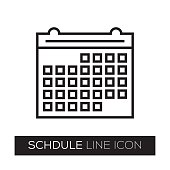 SCHDULE LINE ICON