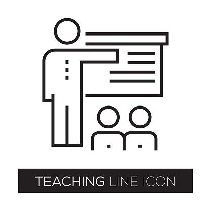 TEACHING LINE ICON