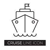 CRUISE LINE ICON