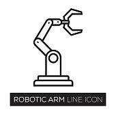 ROBOTIC LINE ICON