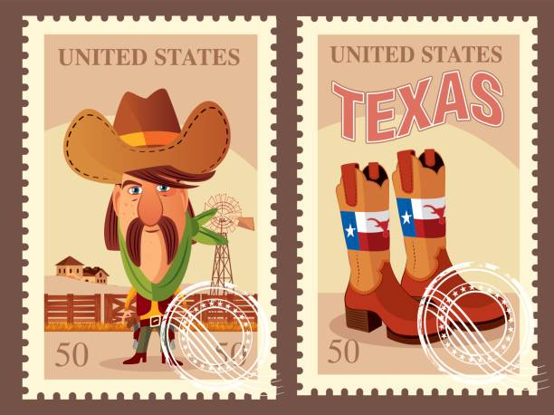 stockillustraties, clipart, cartoons en iconen met west usa-verzendkosten - breedbeeldformaat