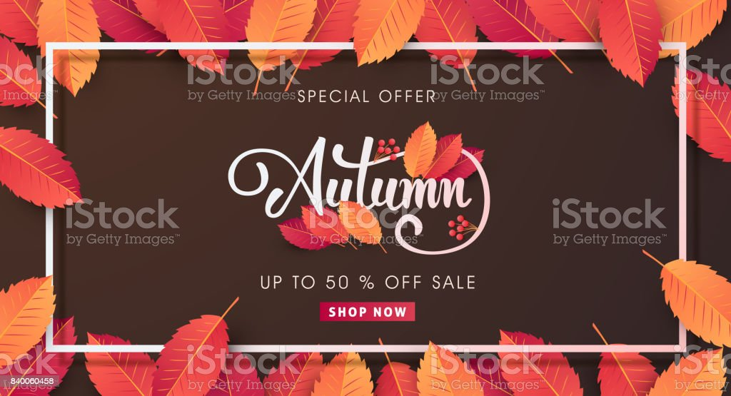 AUTUMN 09 vector art illustration