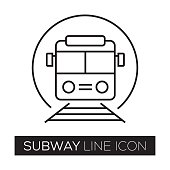 SUBWAY LINE ICON