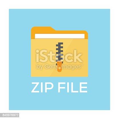 istock ZIP FILE CONCEPT 845976972