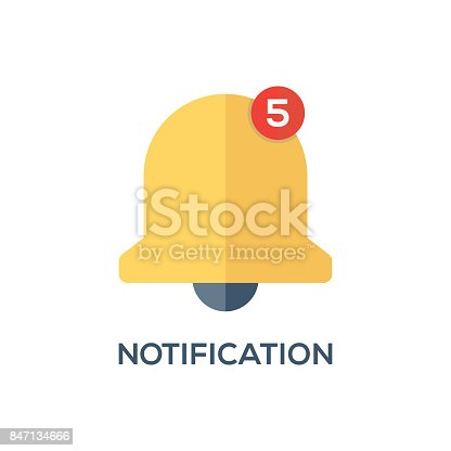 NOTIFICATION CONCEPT ICON