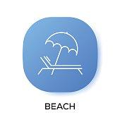 BEACH APP ICON