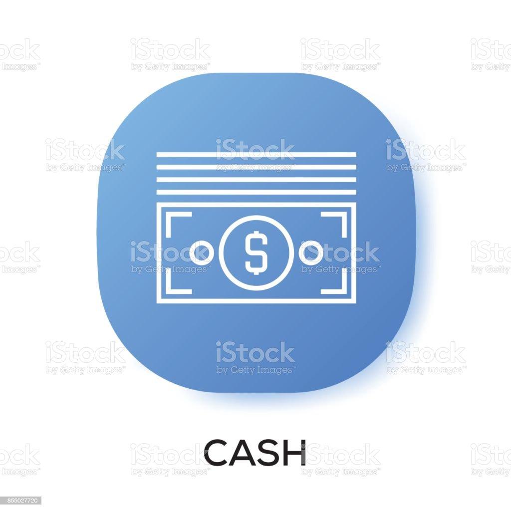 Cash App Icon Stock Illustration - Download Image Now - iStock