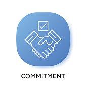 COMMITMENT APP ICON
