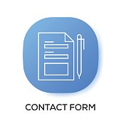 CONTACT FORM APP ICON