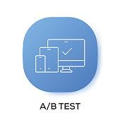A/B TEST APP ICON