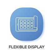 FLEXIBLE DISPLAY APP ICON