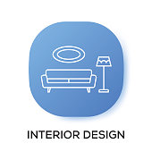 INTERIOR DESIGN APP ICON