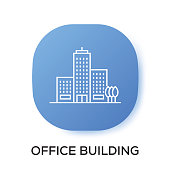 OFFICE BUILDING APP ICON