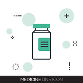 MEDICINE LINE ICON