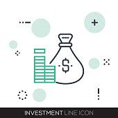 INVESTMENT LINE ICON