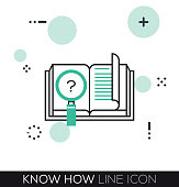 KNOW HOW LINE ICON