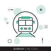 SUBWAY LINE ICON