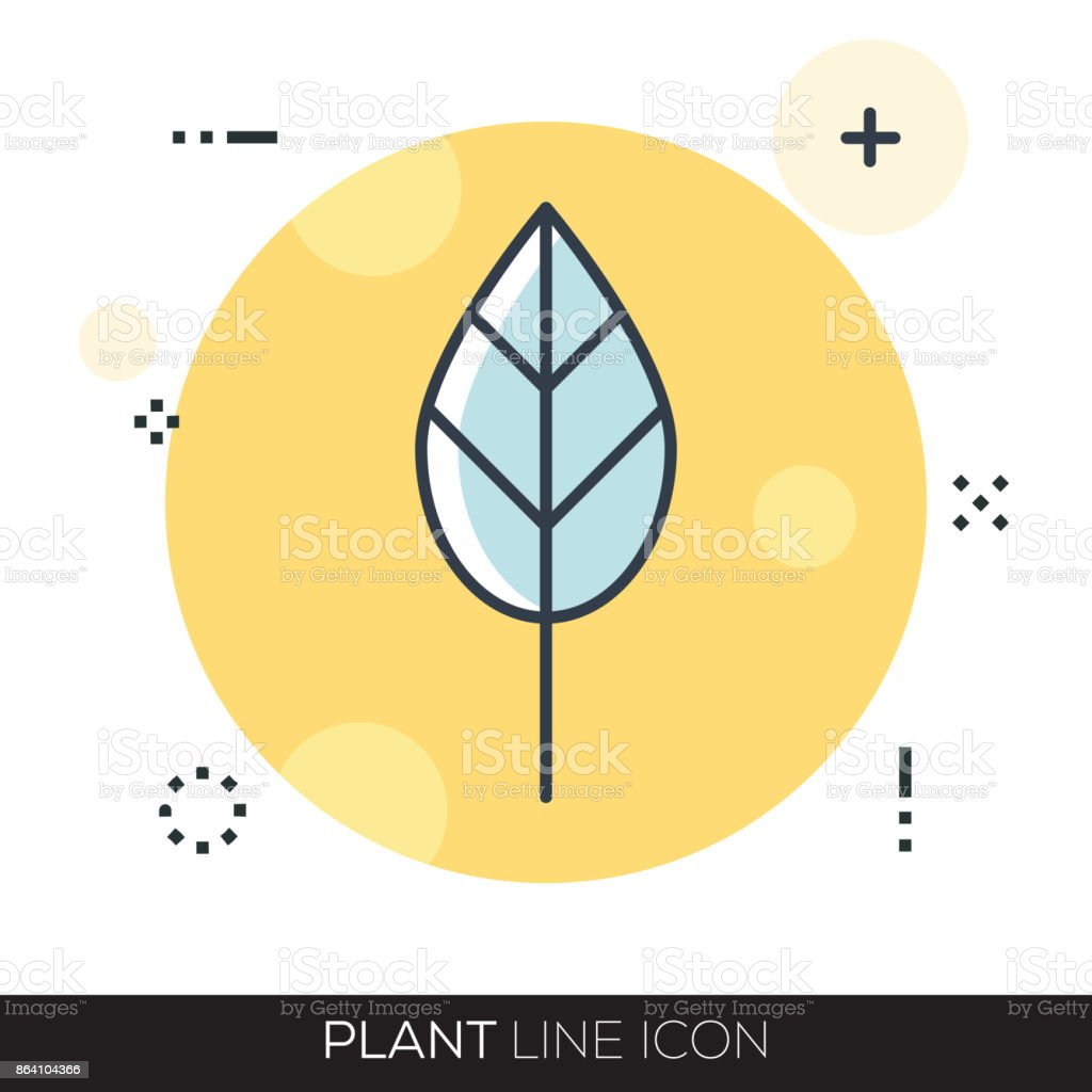 PLANT LINE ICON royalty-free plant line icon stock vector art & more images of accidents and disasters