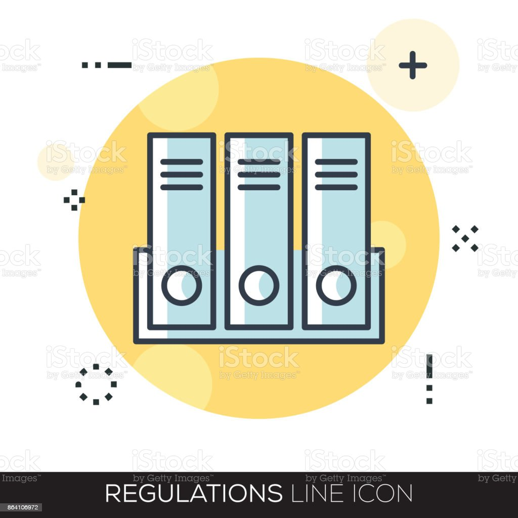 REGULATIONS LINE ICON royalty-free regulations line icon stock vector art & more images of adult