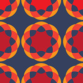 GRAPHIC ROUND PATTERN