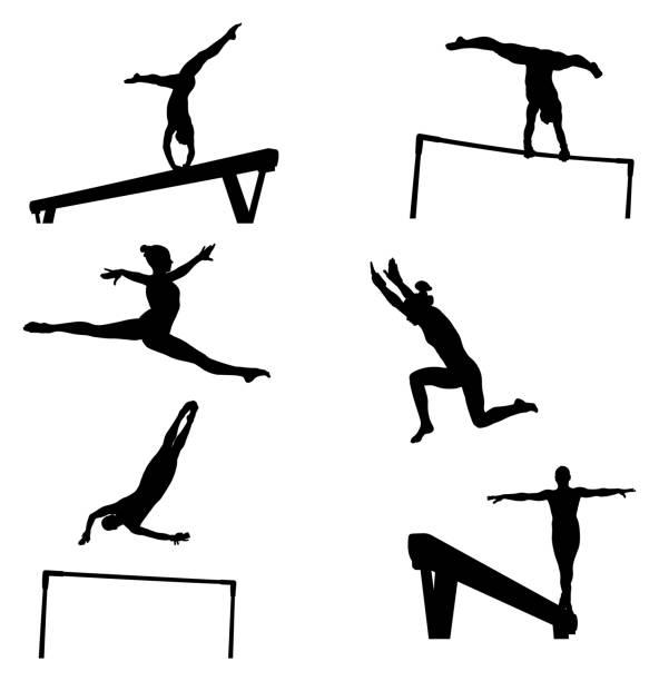 основные rgb - 体操競技点のイラスト素材/クリップアート素材/マンガ素材/アイコン素材