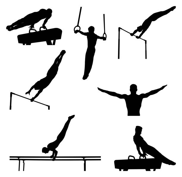 ðžñð½ð¾ð²ð½ñ‹ðµ rgb - gymnastics stock illustrations, clip art, cartoons, & icons