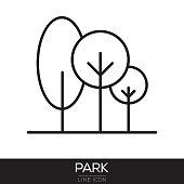 PARK LINE ICON