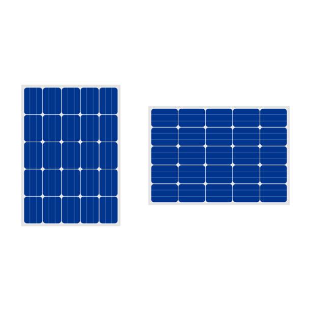 mit aufbau für eine Ÿ ðµñ ‡ mit aufbau für eine ° ñ ' ñ Œ - solaranlage stock-grafiken, -clipart, -cartoons und -symbole