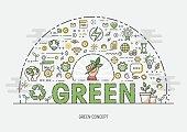Thin Concept - Green