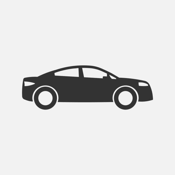 Для Интернета Car icon. Vector illustration. Eps 10. car stock illustrations
