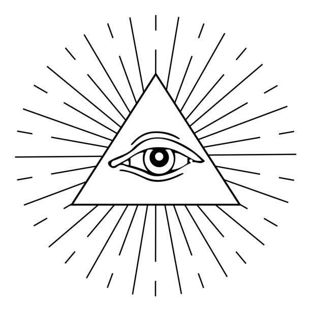 """ð""""ð»ñ ð˜ð½ñ'ðµñ€ð½ðµñ'ð° - третье око stock illustrations"""
