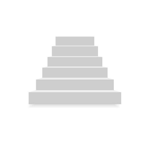 mit aufbau für eine Ÿ ðµñ ‡ mit aufbau für eine ° ñ ' ñ Œ  - treppe stock-grafiken, -clipart, -cartoons und -symbole