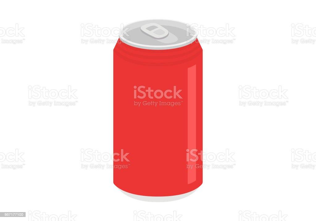缶ジュースvectorkunst illustratie