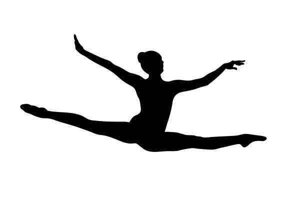 illustrations, cliparts, dessins animés et icônes de основные rgb - gymnastique sportive