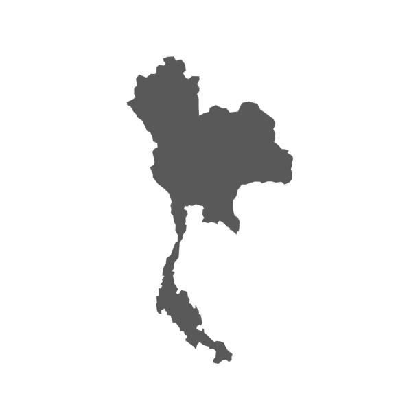 stockillustraties, clipart, cartoons en iconen met печать - thailand