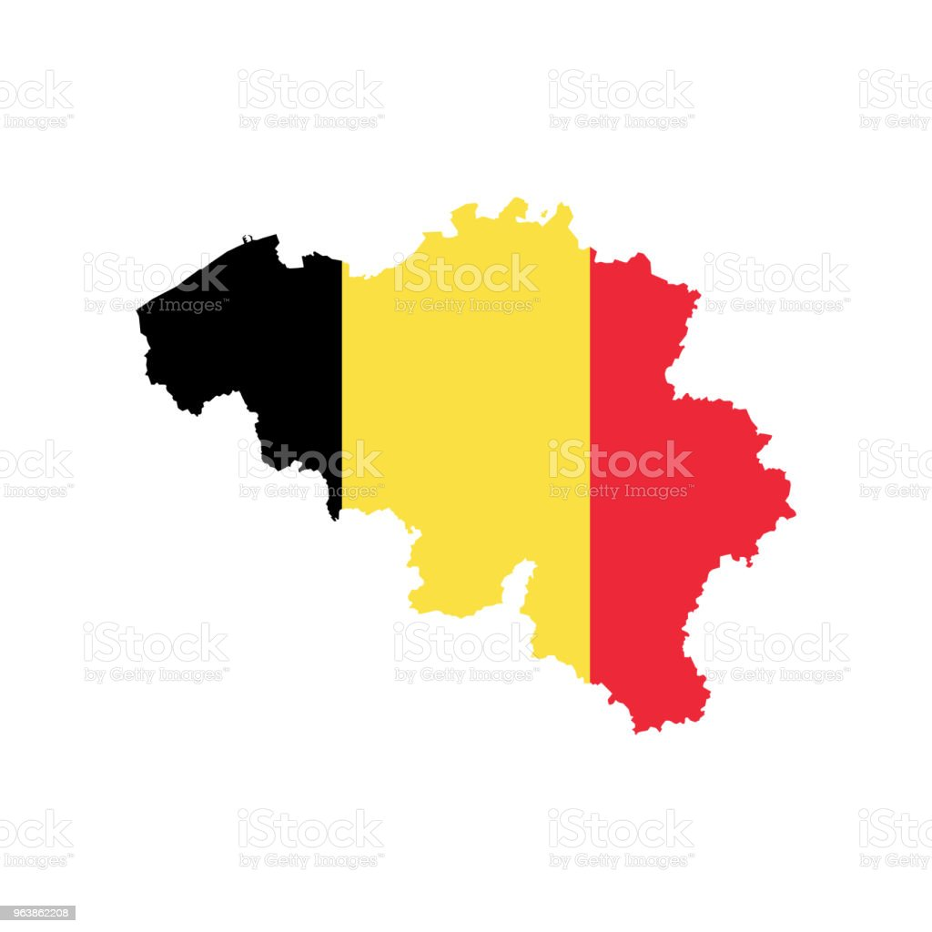 Шаблон - Royalty-free Belgium stock vector