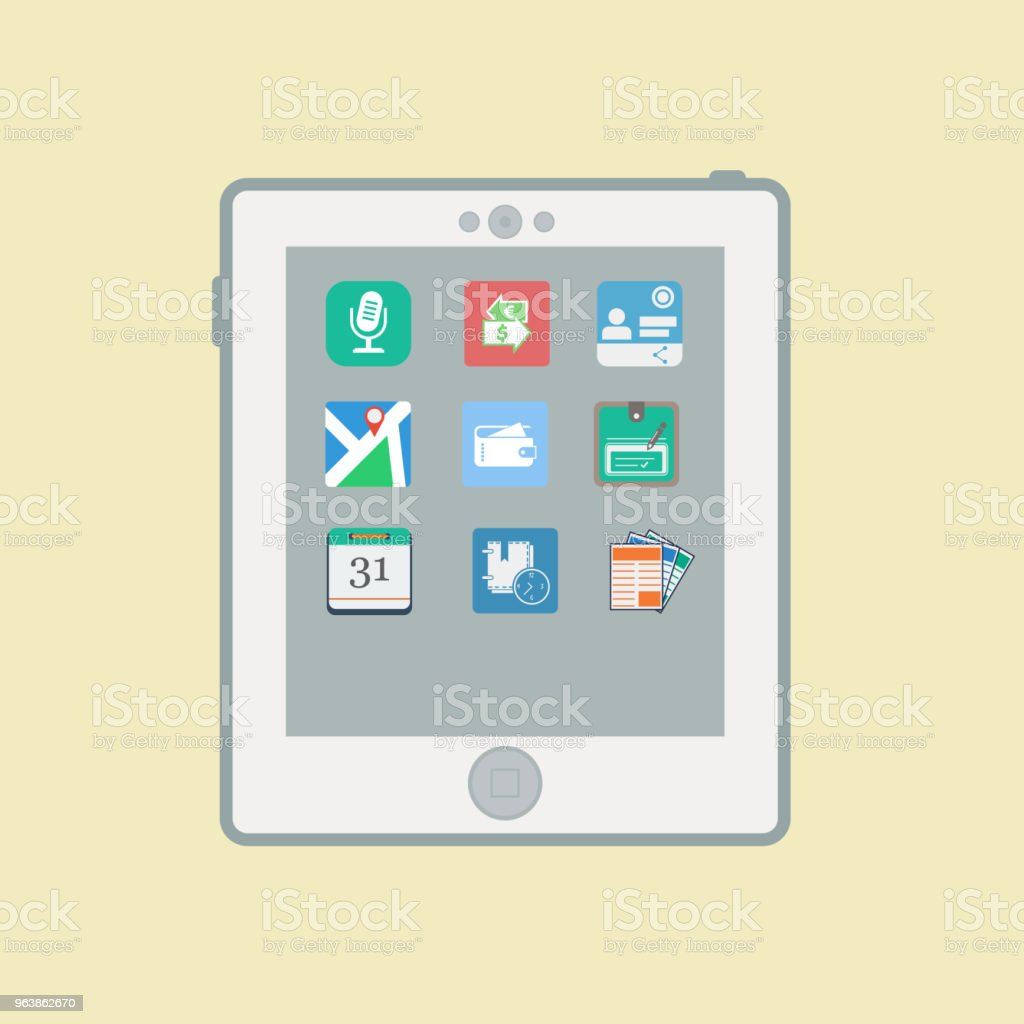 Шаблон 04.10.2015 - Royalty-free Business stock vector