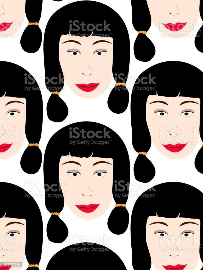 374.หน้าผู้หญิง royalty-free 374ààààààààààà stock vector art & more images of adult