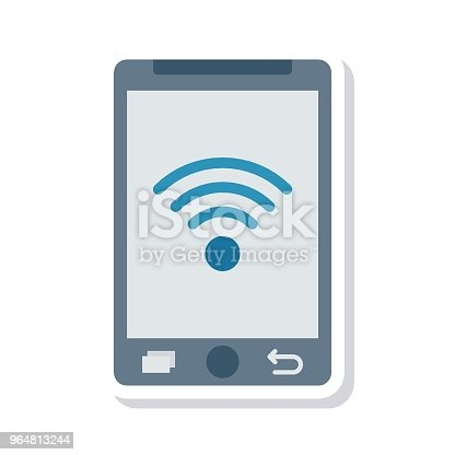 Wifi Stock Vector Art & More Images of Cell 964813244