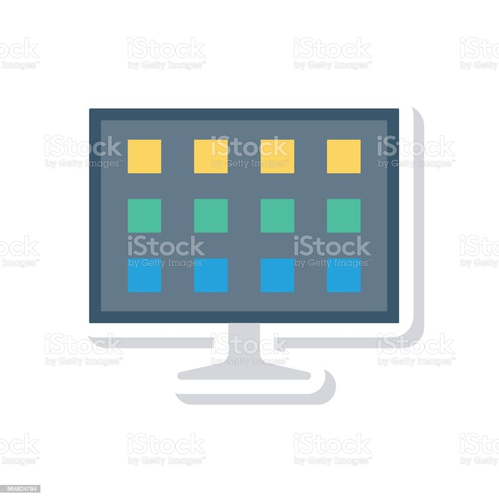 LCD royalty-free lcd stock vector art & more images of backgrounds